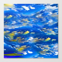 CLOUDS ABSTRACT Canvas Print