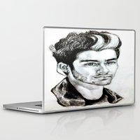 zayn malik Laptop & iPad Skins featuring Zayn Malik drawing by Clairenisbet