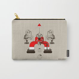 Who loves christmas? Carry-All Pouch