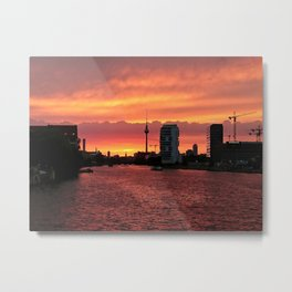 Spree Sunset II Metal Print