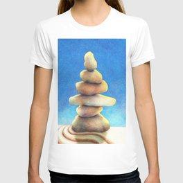 Zen Garden Rocks T-shirt
