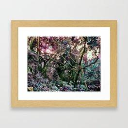 Neondonesian Jungle Framed Art Print