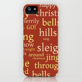 Christmas Jingle Rock iPhone Case
