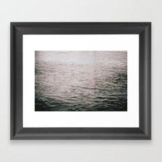 Lake Water Framed Art Print