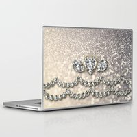 bisexual Laptop & iPad Skins featuring Diamonds and sparkles I by Better HOME