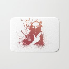 Machine Gun Love  Bath Mat