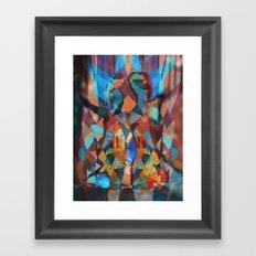 Dancer Trio number 3 Framed Art Print