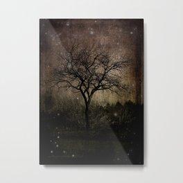 Lights in the Dark Metal Print