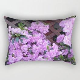 Purple Azalea Rectangular Pillow