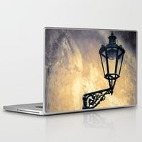 lantern Laptop & iPad Skins featuring Lantern by Maria Heyens