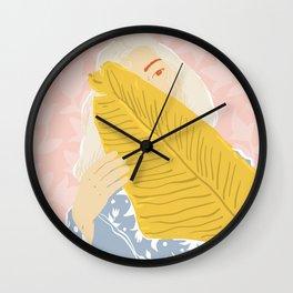 Shy Wall Clock