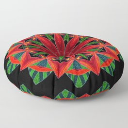 Weird Bug Twisted Floor Pillow