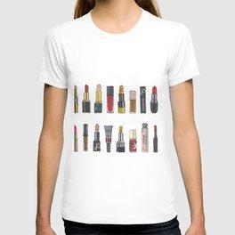 Tiny lipstick lippies lipgloss T-shirt
