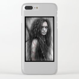 Barbarian Clear iPhone Case