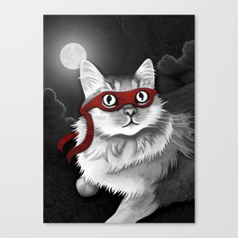 Mr. Meowgi Canvas Print