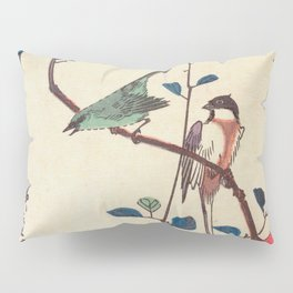 Camellia Branch Pillow Sham
