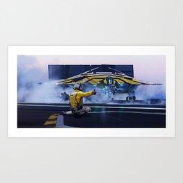 Bomber Launch Art Print