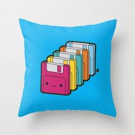 1.44MB Rainbow Throw Pillow