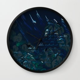 """""""Conquest of the Useless"""" by Werner Herzog Print (v. 6) Wall Clock"""
