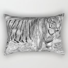 Malayan Tiger (Harimau) Rectangular Pillow
