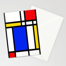 Mondrian Stationery Cards