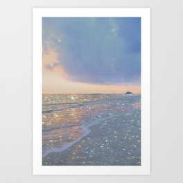 Magic ocean Art Print