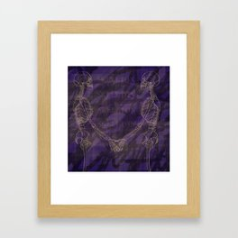 The Anatomy of Enchantment. Framed Art Print