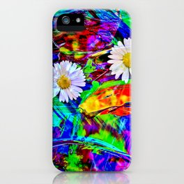 Nature Abstract iPhone Case