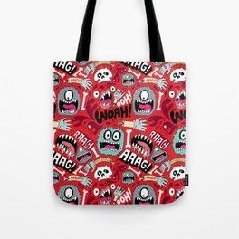 AAAGHHH! PATTERN! Tote Bag