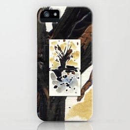 In Limbo - Sepia II iPhone Case