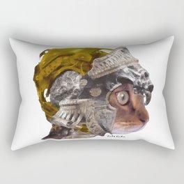Cat Warrior Rectangular Pillow