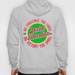 Special Education Teacher Gift Support Autism Awareness Hoody