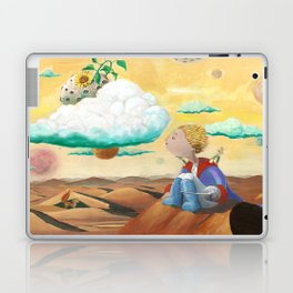 Little Prince with sunflower Laptop & iPad Skin