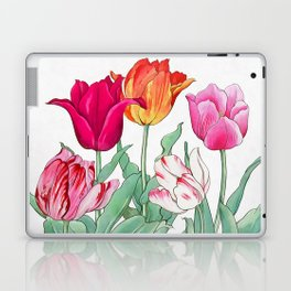 Tulips garden Laptop & iPad Skin