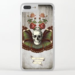 Skullyfly Clear iPhone Case