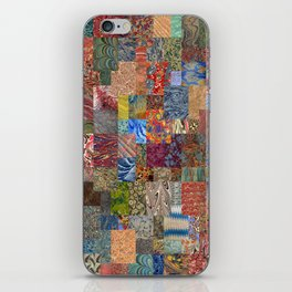 Turkish Marbled Paper Art (Ebru) iPhone Skin