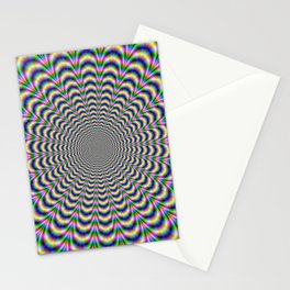 Neon Pulse Stationery Cards