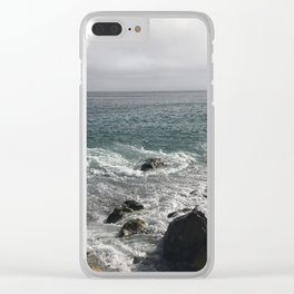Ocean and Cloudy Skys Clear iPhone Case