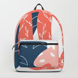 Pisces Modern Art Cutout Backpack
