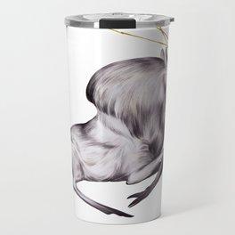 The Stag & His Reflection Travel Mug