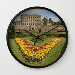 England Cliveden House and Garden Hotel Gardens Lawn Houses Shrubs Cities Bush Building Wall Clock