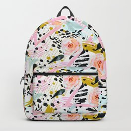 Flowery abstract patterns Backpack