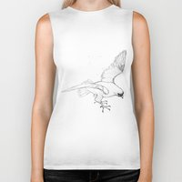 falcon Biker Tanks featuring Falcon by Colleen