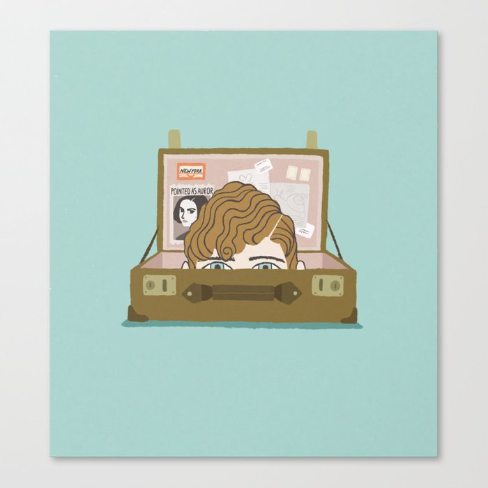 fantastic beasts and where to find them Canvas Print