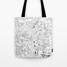 Fragments of memory Tote Bag