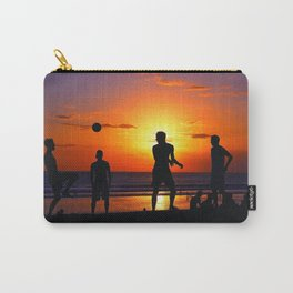 Football at Sunset. Carry-All Pouch