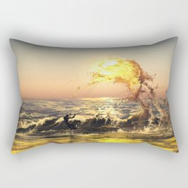 out of water Rectangular Pillow