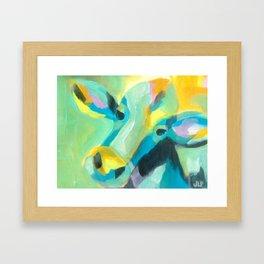 Cow 1 Framed Art Print