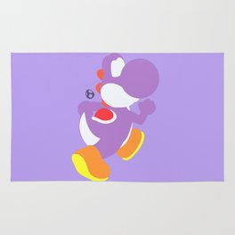 Yoshi(Smash)Purple Rug