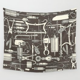 fiendish incisions dark Wall Tapestry